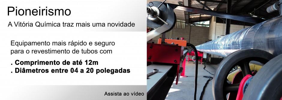 banner movel maquin de aplicação